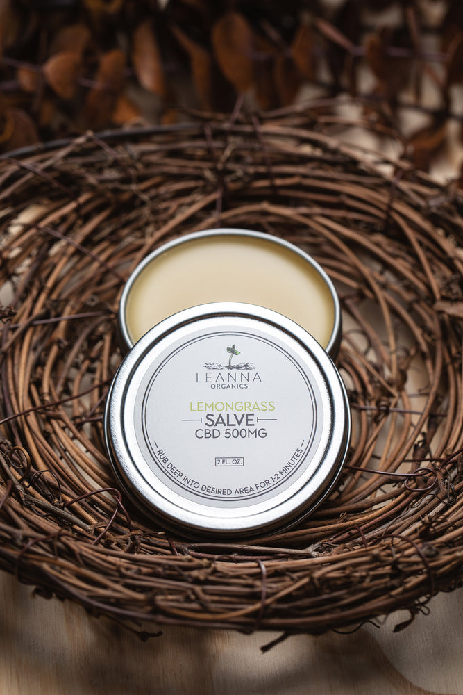 CBD Salve - Lemongrass - 500mg