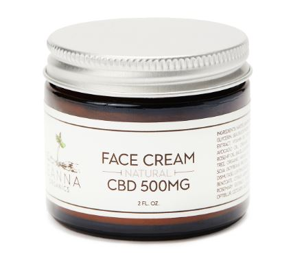 CBD face cream - 500mg