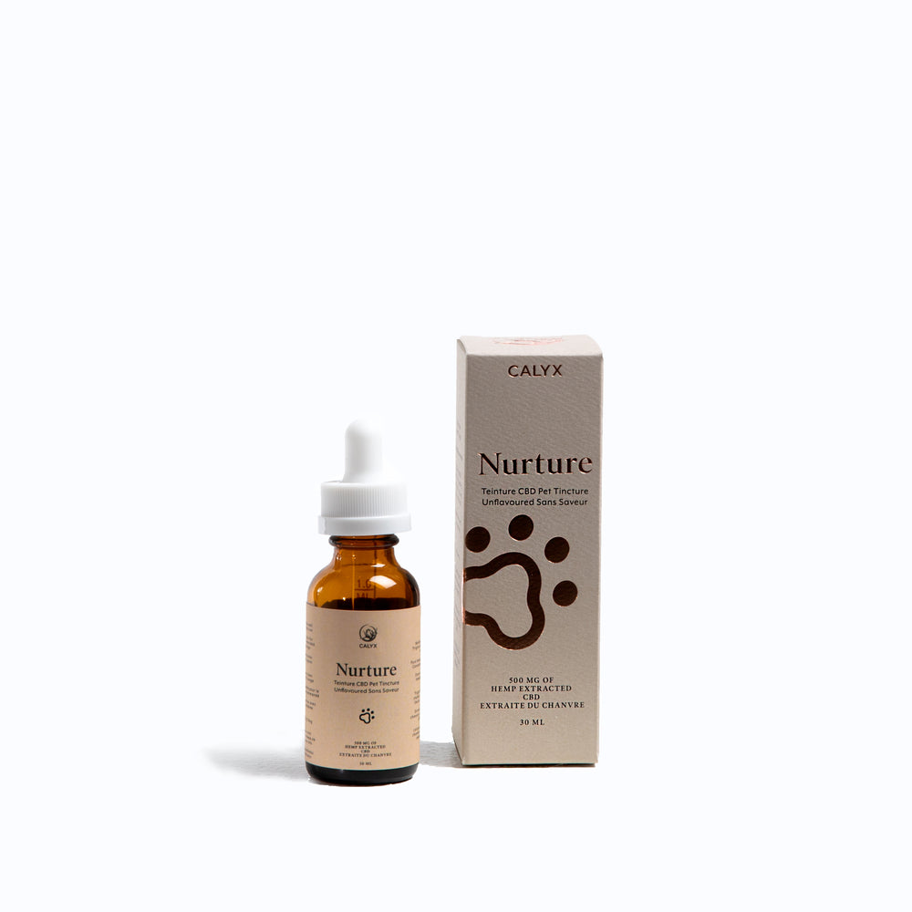 Nurture 30ml 500mg Unflavored Pet Tincture