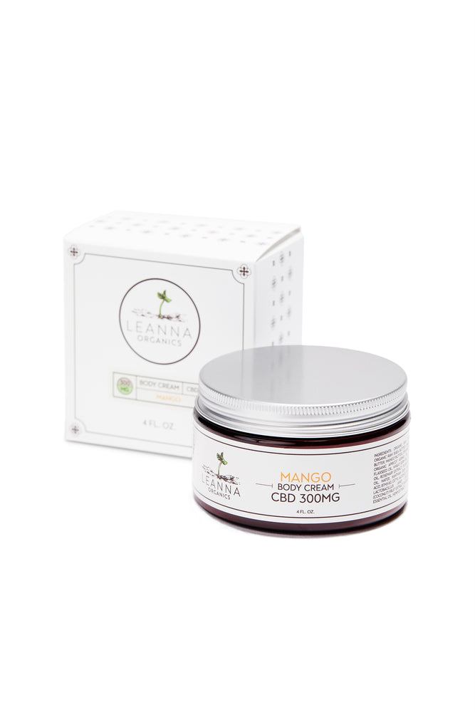 CBD Body Cream - 300 mg - Mango