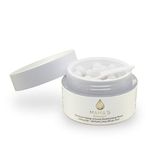 Premium Hemp-Infused Moisturizing Pearls