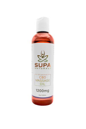 Full Spectrum CBD Massage Oil (1200mg)