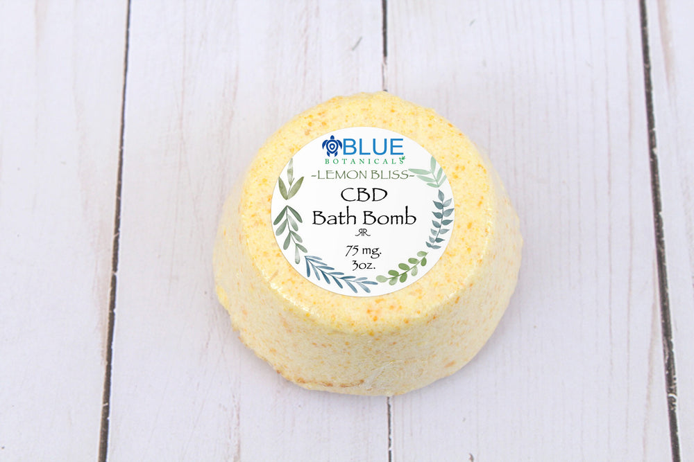 Lemonbliss Bath Bomb - 75mg CBD
