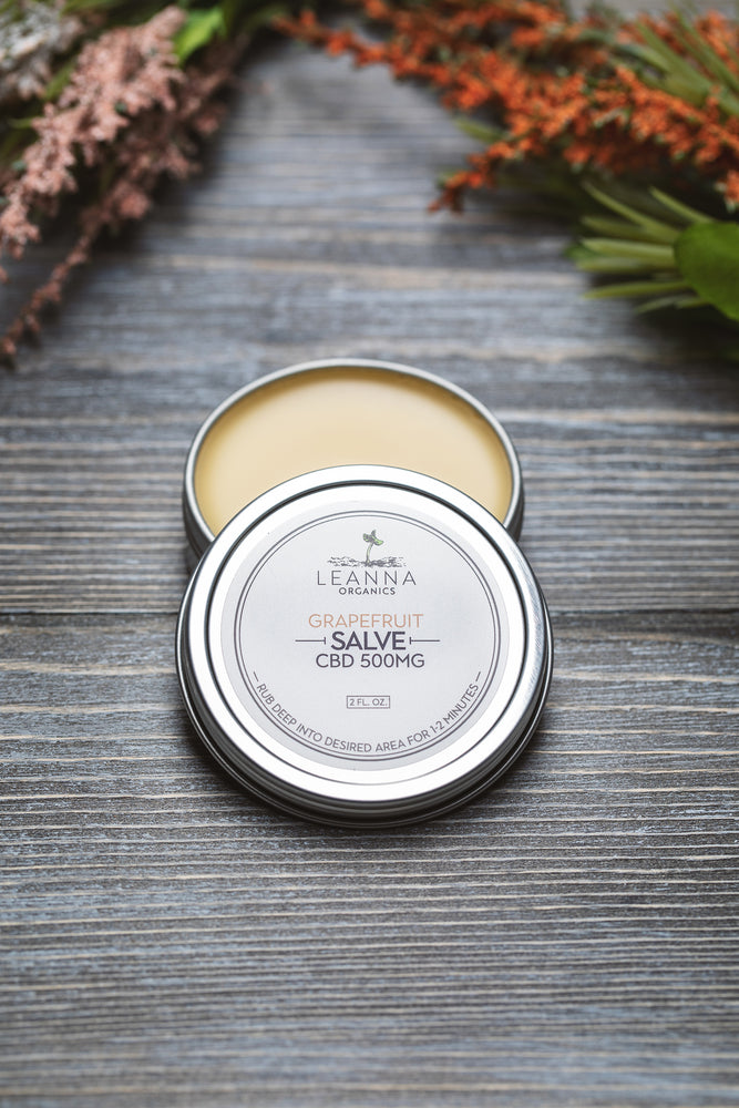 CBD Salve - Grapefruit - 500mg