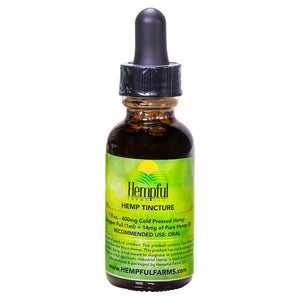 Cold Pressed Hemp CBD Tincture