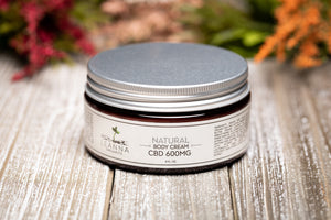 CBD Body Cream - 600mg - Natural Scent