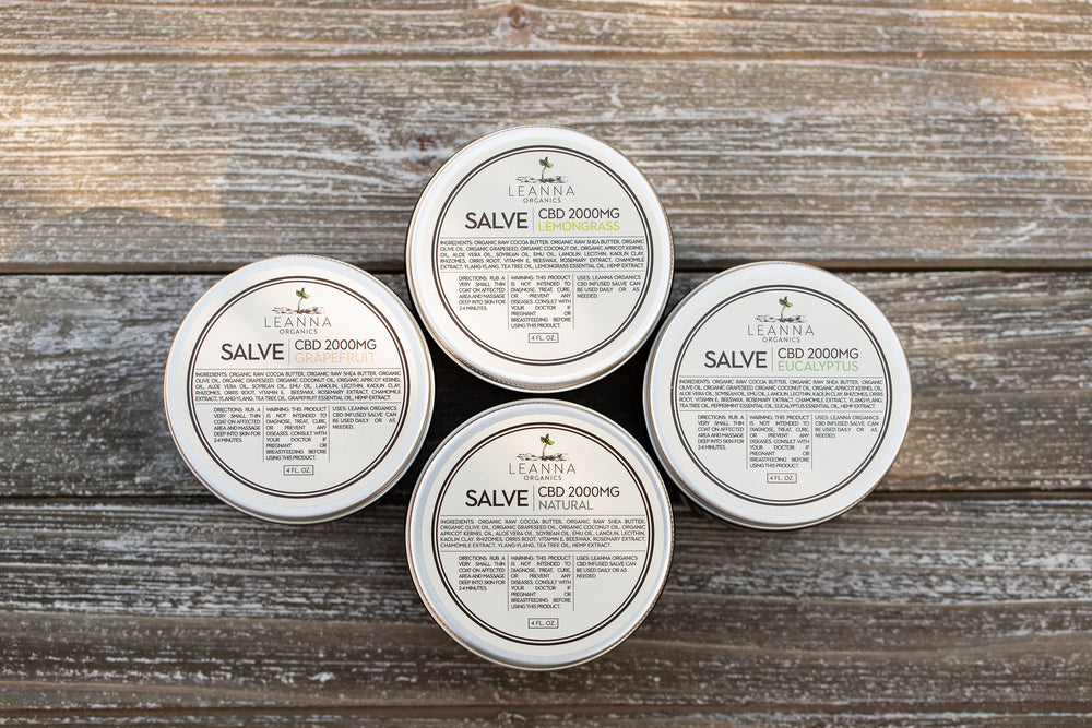 CBD Salve - Lemongrass - 2000mg