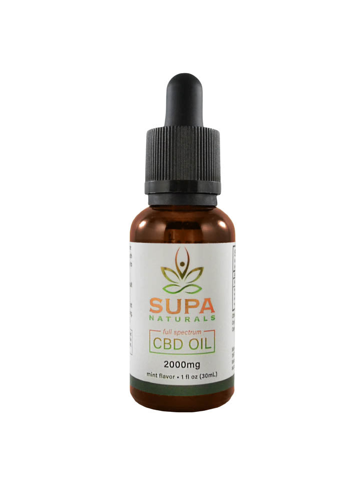Full Spectrum CBD Oil 2000mg Mint
