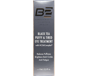 Black Tea Puffy & Tired Eye Treatment with HC56Complex