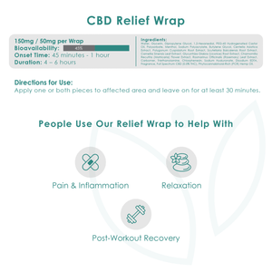 Relief Wrap (3 Pack)