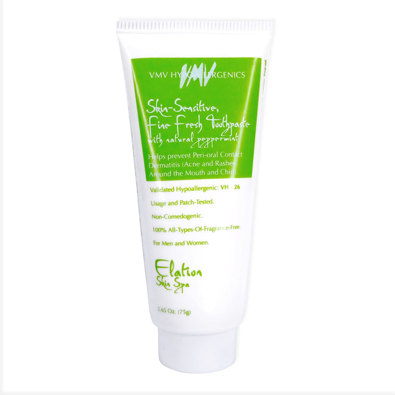 Elation Skin-Sensitive, Fine-Fresh Toothpaste with Natural Peppermint