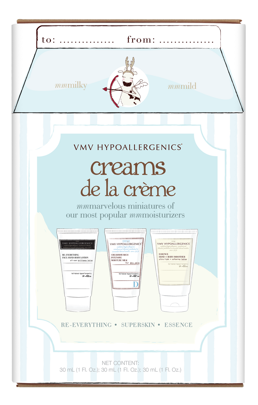 Creams de la Crème Holiday Set