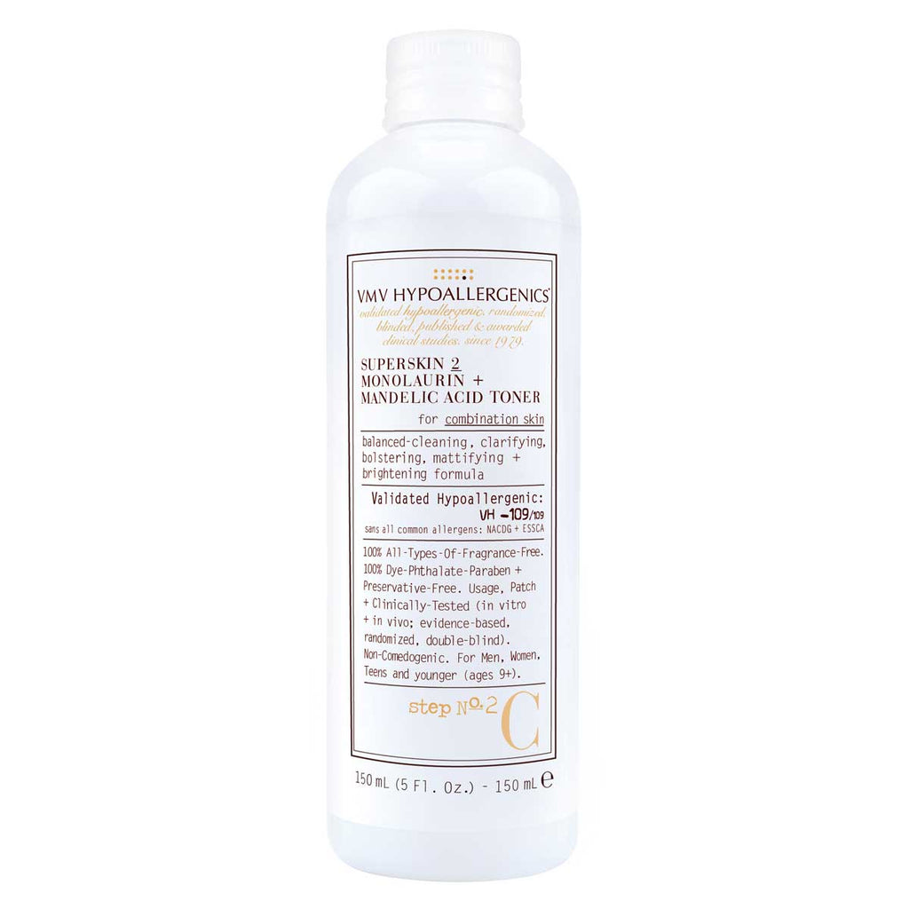 Superskin 2 Monolaurin + Mandelic Acid Toner for Combination Skin