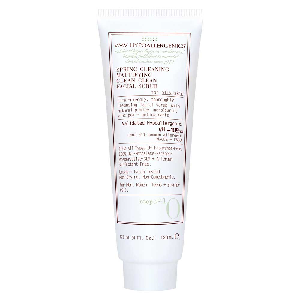 Spring Cleaning Mattifying Clean-Clean Facial Scrub