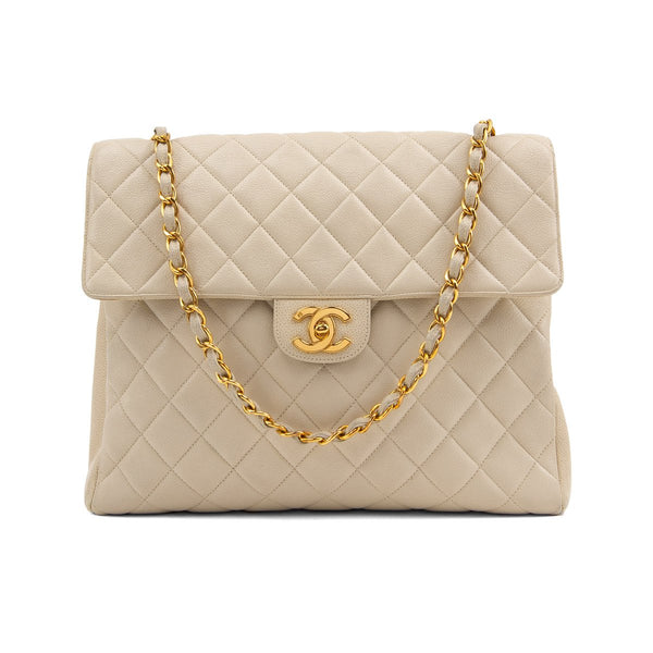 Vintage Chanel Square Single Flap Bag