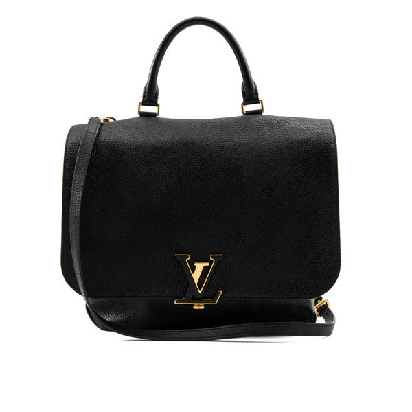Louis Vuitton Black Taurillon Leather Volta Bag