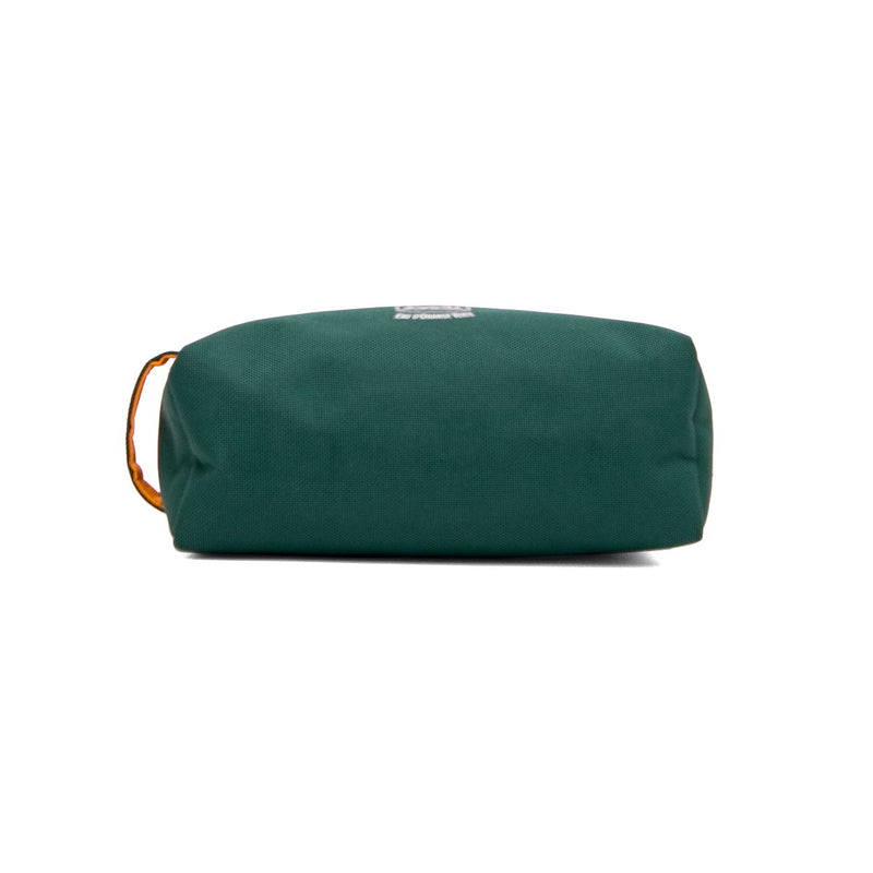 HERMÈS Green Fabric Toiletry Pouch
