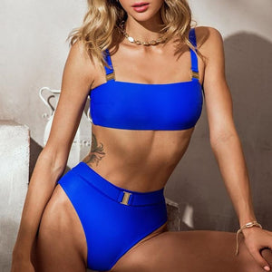 High waist Fashion swimsuit