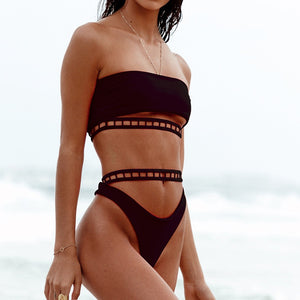 Sexy High Waist Bikini Set