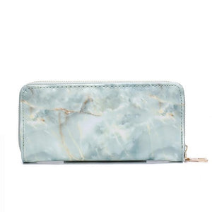 Marble Patent Leather Bags