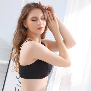 Cotton Wire Free Push Up Bras