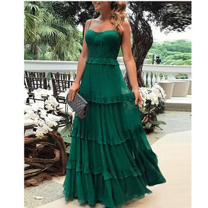 Boho Off-Shoulder Long Dress
