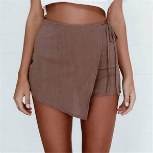 Fashion Casual High Waist Shorts