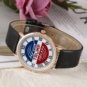 Leather Strap Quartz Wrist Watches