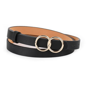 Leather Cowgirl Waist Belt