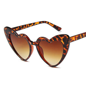 Ladies' Heart shaped Sunglasses