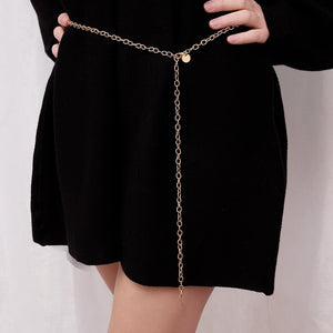 Chain Chunky Fringes Belt