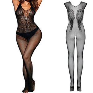 fishnet Lingerie bodysuit