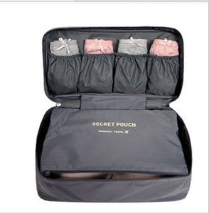 Multi-function Pouch Zip Suitcase
