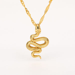 Snake Cobra Pendants Necklace
