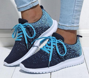 Lace Up Trainers Lightweight Sneakers