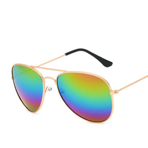 Women's Metal Glasses Sunglasses