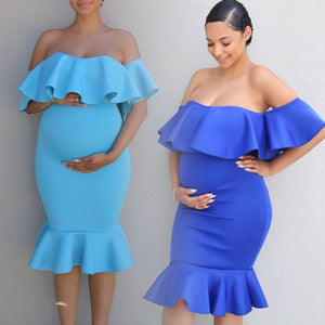 Maternity Gown Pregnant Clothes
