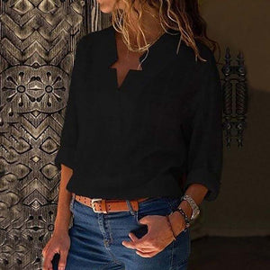 Loose Long Sleeve Shirt