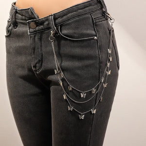 Punk Pant Chain Belt