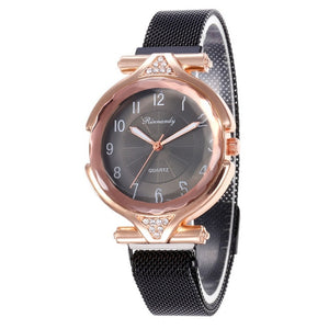 Metal Stainless Steel Dress Watches Relogio Feminino Gift Clock