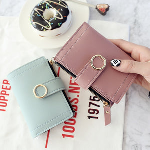 Small Brand Leather Purse