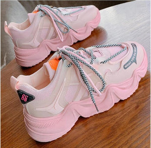 Candy Color Mesh Shoes