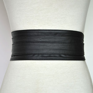 PU Leather Corset Belts