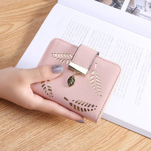 Short Zipper Hollow Bag