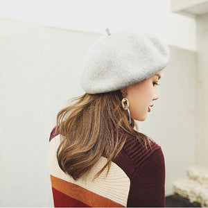 Retro Vintage Solid Color Elegant Hat