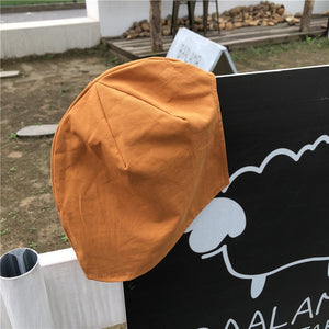 Opening Bucket Solid Color Hats