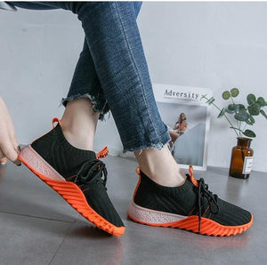 Mesh Color Loafers Sneakers