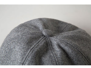 Wool Cotton Blend Berets Caps