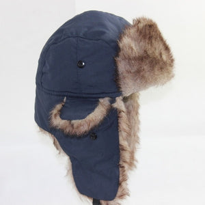 Warm Ear Flaps Ski Hat