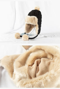 Warm Faux Fox Fur Bomber Hat